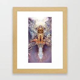 Sentient Network Framed Art Print