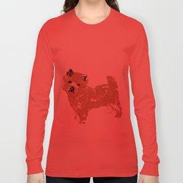 Cairn Terrier Dog Long Sleeve T-shirt
