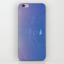 Waterdrop iPhone Skin