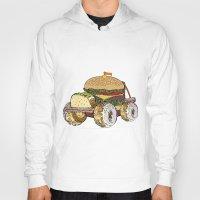 junk food Hoodies featuring junk food car by immiggyboi90