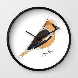 Hawfinch Wall Clock