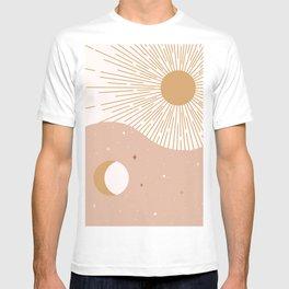 Yin Yang Blush - Sun & Moon T-shirt