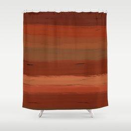 Autumn Sunset III Shower Curtain