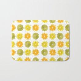 Oranges, Lemons, and Limes Oh My! Bath Mat