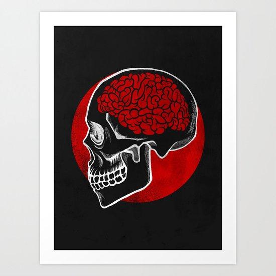 RedBrain Art Print