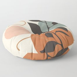 Abstract Minimal Shapes 23 Floor Pillow