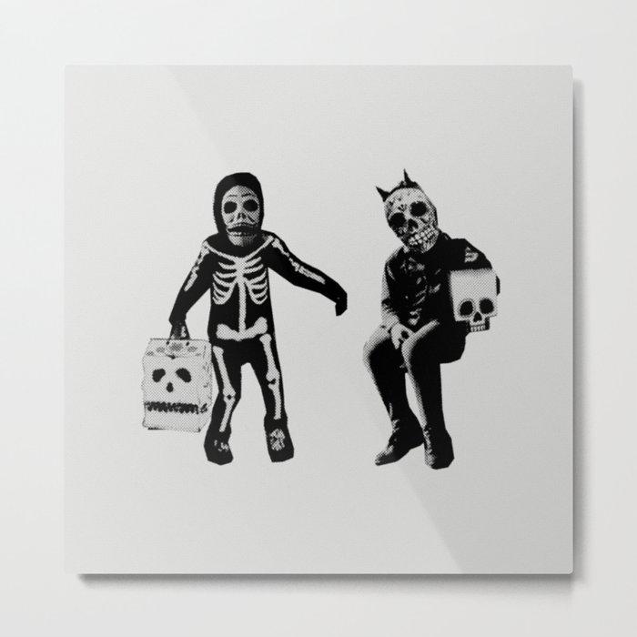 CALAVERITA / HALLOWEEN Metal Print