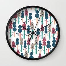 Huhuu Wall Clock