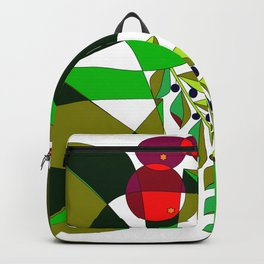 Grapes, Pomegranates, Blue Berries and Olives Backpack