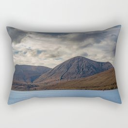 Loch Ainort, in Luib, Skye, The Highlands, Scotland Rectangular Pillow
