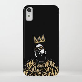 Brooklyn's King iPhone Case