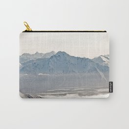 Talkeetna Mountains and Twin Peaks Carry-All Pouch