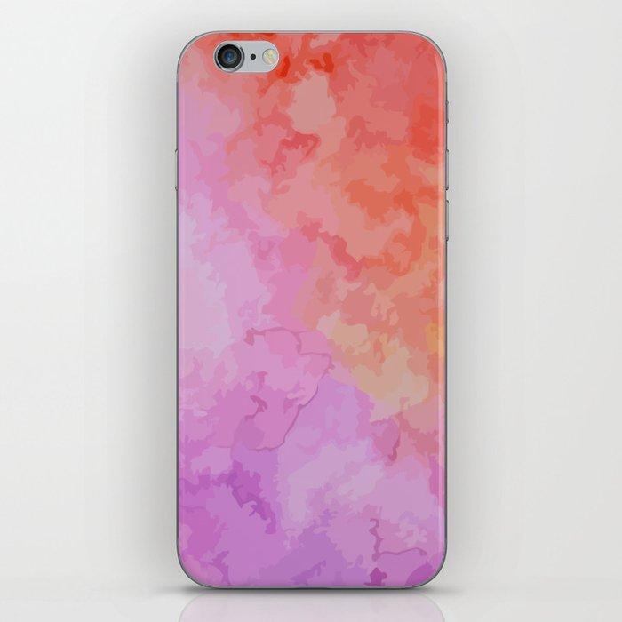 Soft Watercolor iPhone Skin