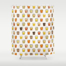 All the Beer in the World Shower Curtain
