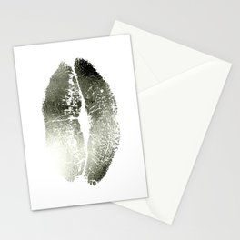 Lips Silver Stationery Cards