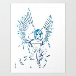 Tears of an Angel Art Print