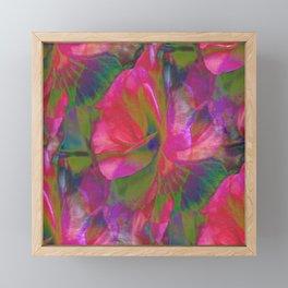 Flowers Are Music Framed Mini Art Print