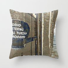 Barcelona digital street photography + Dreamscope Throw Pillow