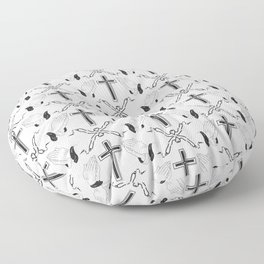 Catholic Things Floor Pillow