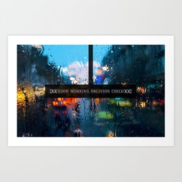Good Morning Oblivion Child I Art Print