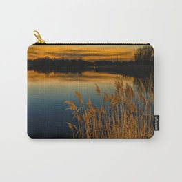 Nature Landscape Photography - Sunset at Reedy Point Pond Carry-All Pouch