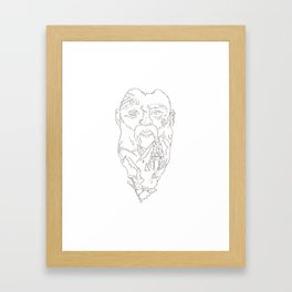 Dwarves in the Mountains Framed Art Print
