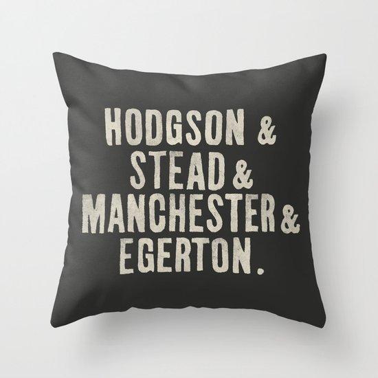"Yee Olde ""&"" T-shirt Meme Throw Pillow"