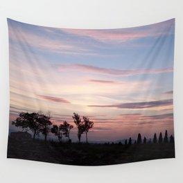 Italian sunset Wall Tapestry