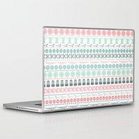sewing Laptop & iPad Skins featuring Sewing by Heleen van Buul