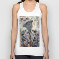 frank Tank Tops featuring Frank by Katy Hirschfeld