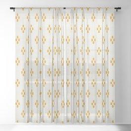 ELLE DOT Sheer Curtain