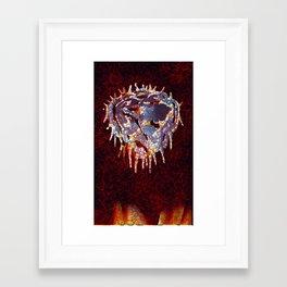 Crown of Sorrow  Framed Art Print