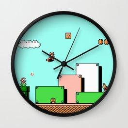 SMB3 Wall Clock
