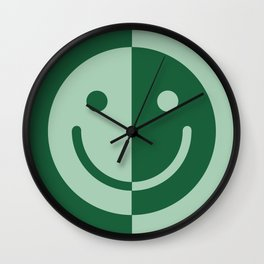 Happy Sage Wall Clock