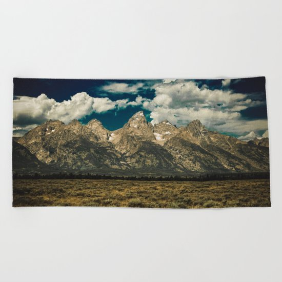 Mountain Summer Escape Beach Towel