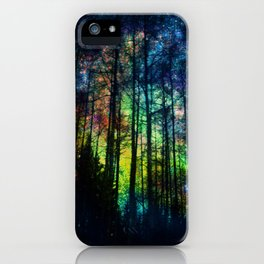Magical Forest II iPhone Case
