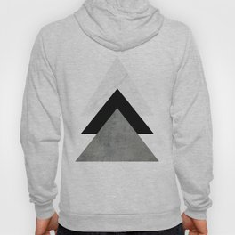 Arrows Monochrome Collage Hoodie