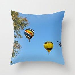 The Flight Path Throw Pillow