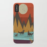 wolves iPhone & iPod Cases featuring Wolves by Kakel