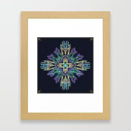 // Point of Access Framed Art Print