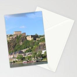 Koblenz mit Festung Ehrenbreitstein Stationery Cards