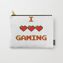 I Love Gaming Carry-All Pouch