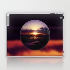 Float on the clouds like a drop of dew and bask in the light of a sunrise view Laptop & iPad Skin