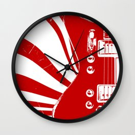 Airline Guitar - Jack W. Wall Clock