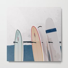Taghazout Surfboards Metal Print