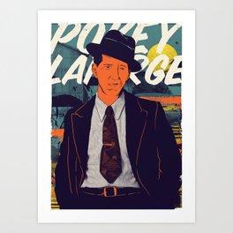 Pokey LaFarge  Art Print