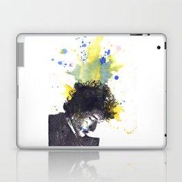 Portrait of Bob Dylan in Color Splash Laptop & iPad Skin