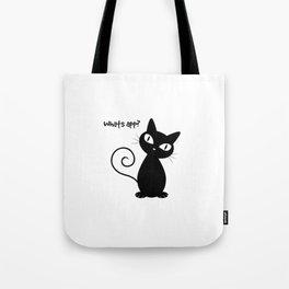 Whatsapp Cat Tote Bag