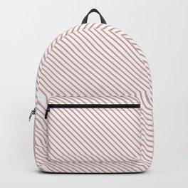 Bridal Rose Stripe Backpack