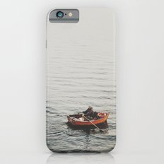 Lonely boat iPhone 6s Slim Case